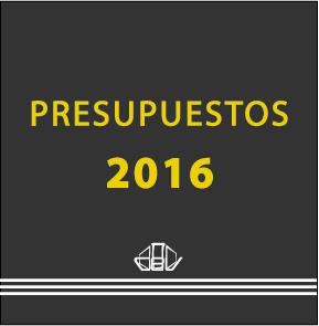Portada Presupuestos 2016